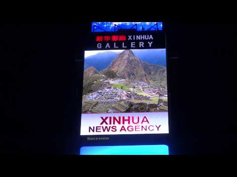Xinhua News Agency Dominates Times Square