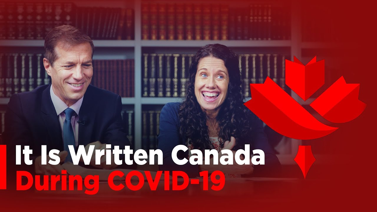 It is written Canada during COVID-19 & Mike and Rene's Testimony