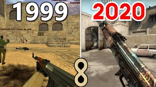 Counter Strike Evrimi CS GO 1999 - 2018 (Evolution of Counter Strike CS:GO)
