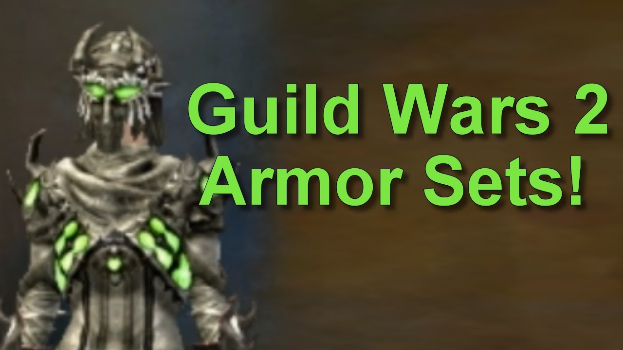 Guild Wars 2 All Dungeon Armor Sets Youtube