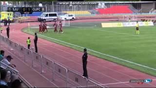 UE Saint Julia - Gzira United fc 0-1 (penalty) Goal
