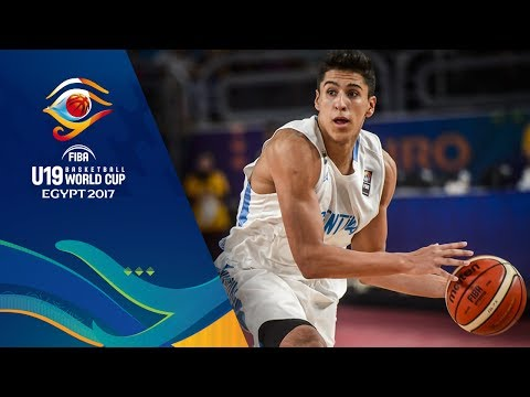 Argentina v Egypt - Full Game - Round of 16 - FIBA U19 Basketball World Cup 2017