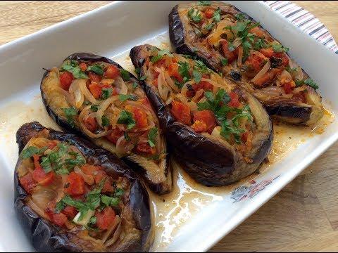 a-turkish-classic,-'imam-bayildi'-recipe---fried-and-stuffed-eggplants