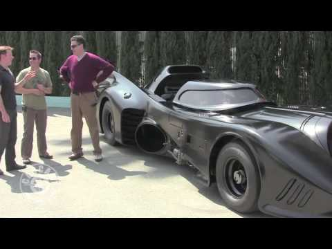 Jeff Dunham and The Batmobile From Batman Returns
