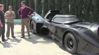 Jeff Dunham and The Batmobile From Batman Returns
