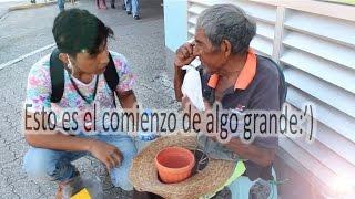 AYUDANDO A LA GENTE DE LA CALLE | CON ESFUERZO Y DEDICACIÓN TODO SE PUEDE:) thumbnail