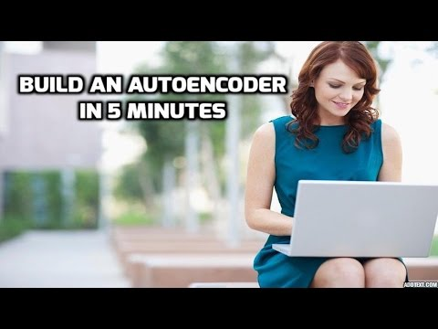 Build an Autoencoder in 5 Min - Fresh Machine Learning #5