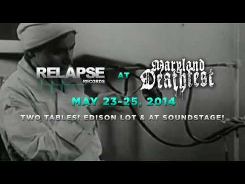 Relapse Records at Maryland Deathfest 2014 - Official Trailer
