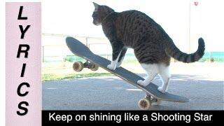CAT Super Skateboarding Adventure! (With Lyrics)