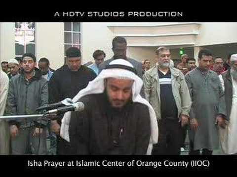 Surah Al Alaa by Mishary Al-Afasy at IIOC - Isha Part 2