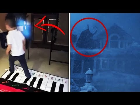 10 Paranormal & Creepy Christmas Videos That Need Explaining! Real Ghost Videos?