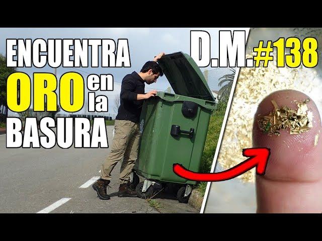 Cómo ENCONTRAR ORO en LA BASURA, ORO en electrónica desechada - Detección Metálica 138