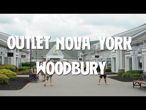 Conhecendo o outlet de Woodbury