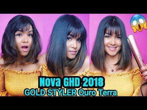 Chapinha GHD 2018 Gold Styler Lançamento