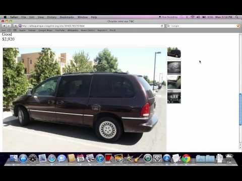 Craigslist Albuquerque Used Cars and Trucks - For Sale by