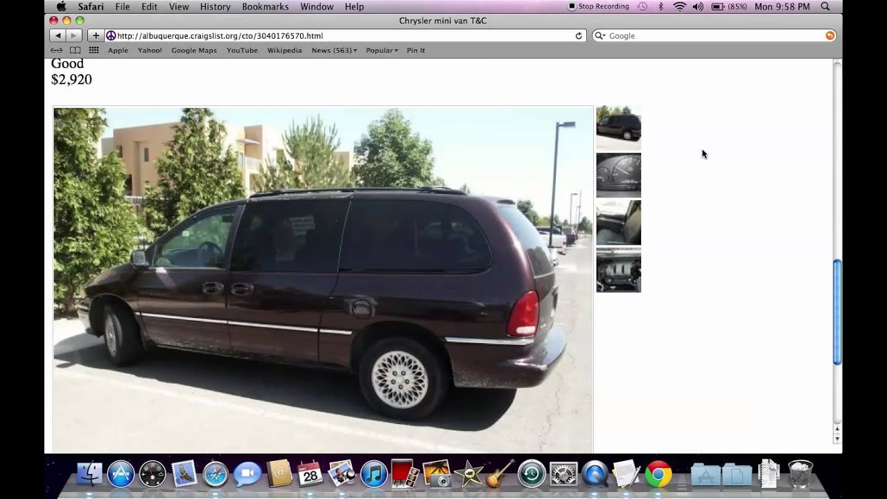 Craigslist Albuquerque Used Cars and Trucks - For Sale by Owner ...