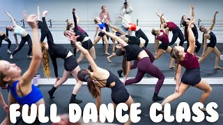Contemporary Dance Class I Warmup & Choreography