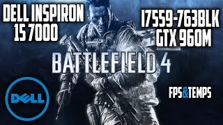 Battlefield 4 ULTRA Settings - Dell Inspiron 15 7000 Gaming Laptop (i7559-763BLK)
