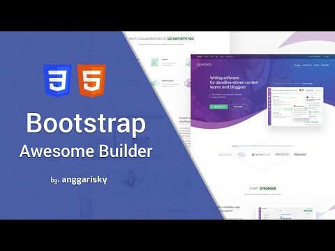 Design A Website With Bootstrap Interface Builder