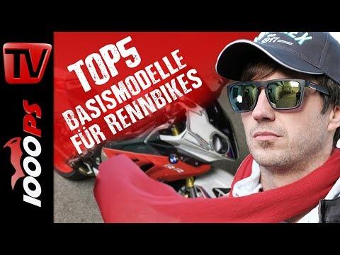 Top 5 - Die besten Basismodelle für Rennmotorräder - mit Martin Bauer