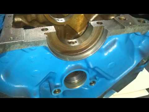 how to change rear main seal vq35de