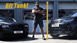 Construction Entrepreneur Collects his New & Wrapped Rolls Royce Wraith