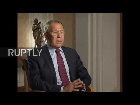 Russia: 'Ridiculous' to say Russia is interfering in US domestic matters - Lavrov