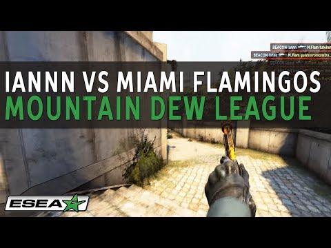 AWP Ace on de_overpass by Beacon iannn vs. Miami Flamingos