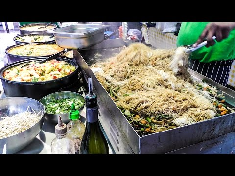 Noodles and Other Foods from Singapore Tasted in Brick Lane. London Street Food