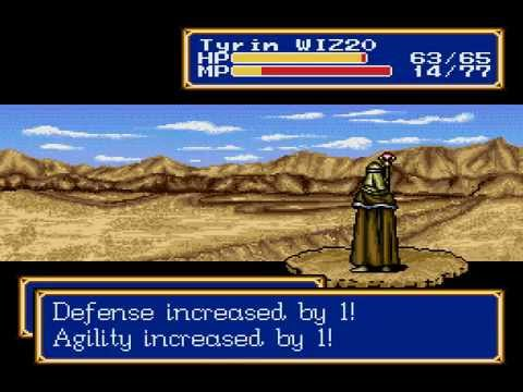 Shining Force 2 Cameela Test