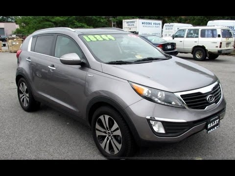 2011 kia sportage ex awd walkaround start up tour and. Black Bedroom Furniture Sets. Home Design Ideas