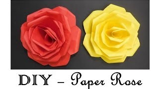 DIY - How to make Paper Roses