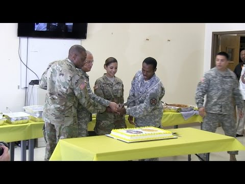 Fort Report U.S. Army Chaplain Corps Anniversary