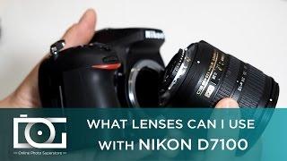 TUTORIAL | Nikon D7100 Lens Compatibility - Nikon DX Lenses - Nikon F Mount