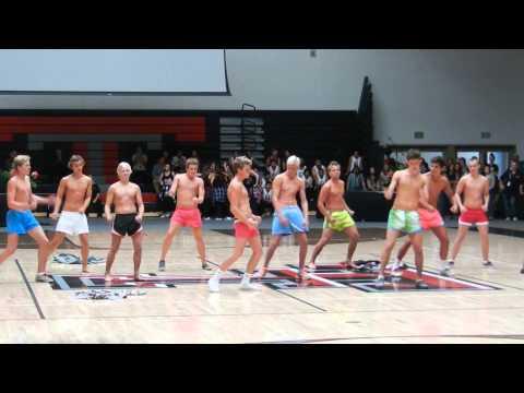 Boys' Water Polo Team @ 2013 Hello Goodbye Assembly