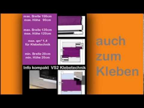 plissee fenster plissees online auf ma kaufen youtube. Black Bedroom Furniture Sets. Home Design Ideas