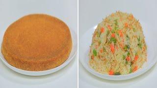 أرز بالشعرية والخضار - ساندوتش بيض وجبنة - كنافة بالمهلبية | على قد الإيد حلقة كاملة
