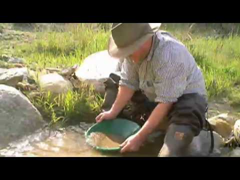 Gold Panning in Angeles National Forest California