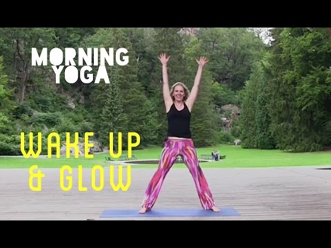 MORNING YOGA // Cardio, Wake-Up & Glow, 40 min. // StiffInTheMorning #3