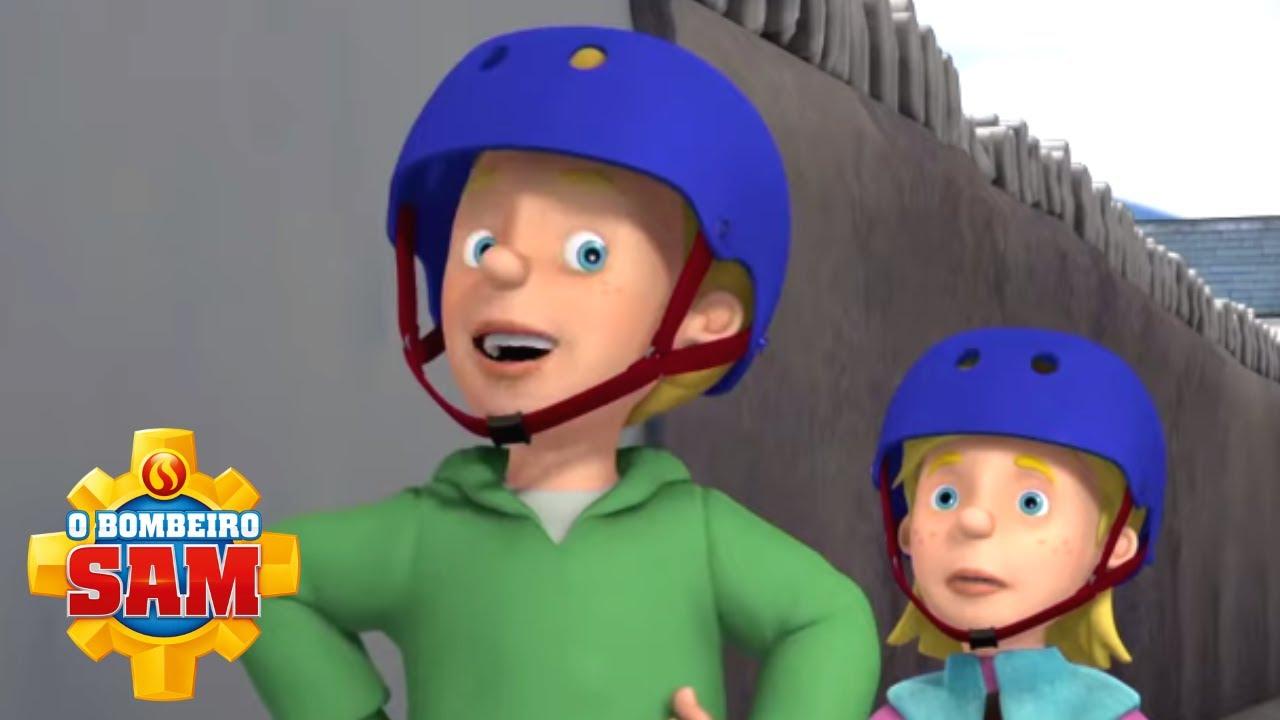 James, o bombeiro secreto! ⭐️ O Bombeiro Sam | Compilação | Desenhos para Crianças
