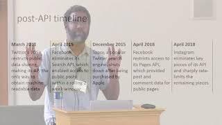 SICSS 2018   Deen Freelon thumbnail