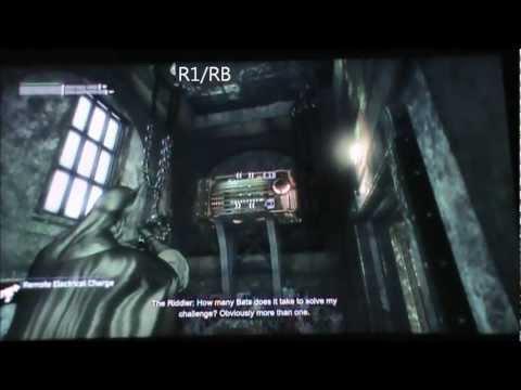 Batman Arkham City - FIFTH RIDDLER HOSTAGE (Enigma Conundrum).