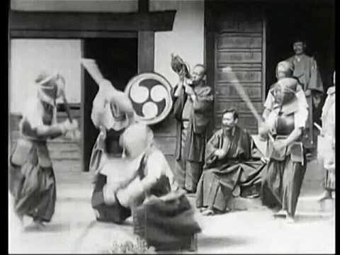 1897 Japanese Martial Art Demonstration Of Kendo - Kyoto Japan
