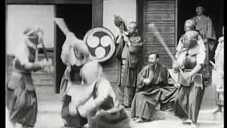 1897 Japanese Martial Art Demonstration Of Kendo - Kyoto Japan