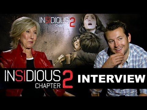 Download Insidious 2 - Leigh Whannell & Lin Shaye Interview : Beyond The Trailer