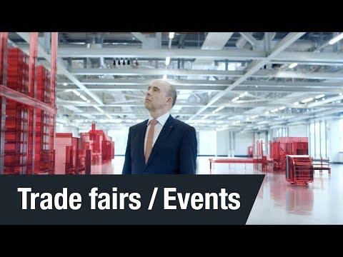 HANNOVER MESSE 2018 | Invitation to trade fair | Johann Soder | SEW-EURODRIVE