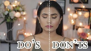 Makeup Mistakes To Avoid |  DO'S & DON'TS | Beautynepal |