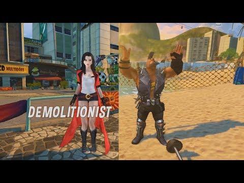 Global Adventures - Demolitionist
