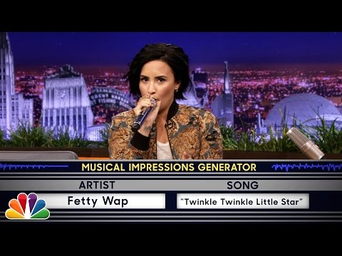 Thumbnail: Wheel of Musical Impressions with Demi Lovato