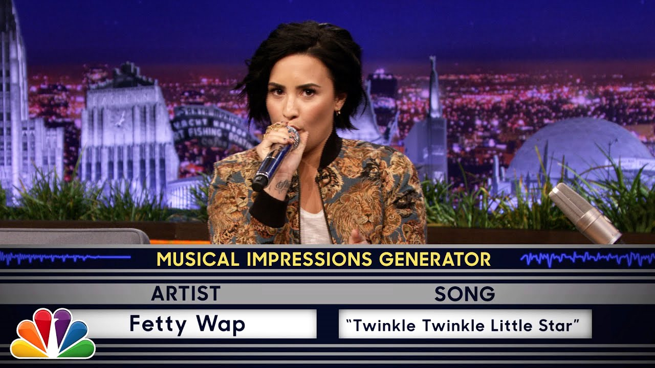 Wheel of Musical Impressions with Demi Lovato